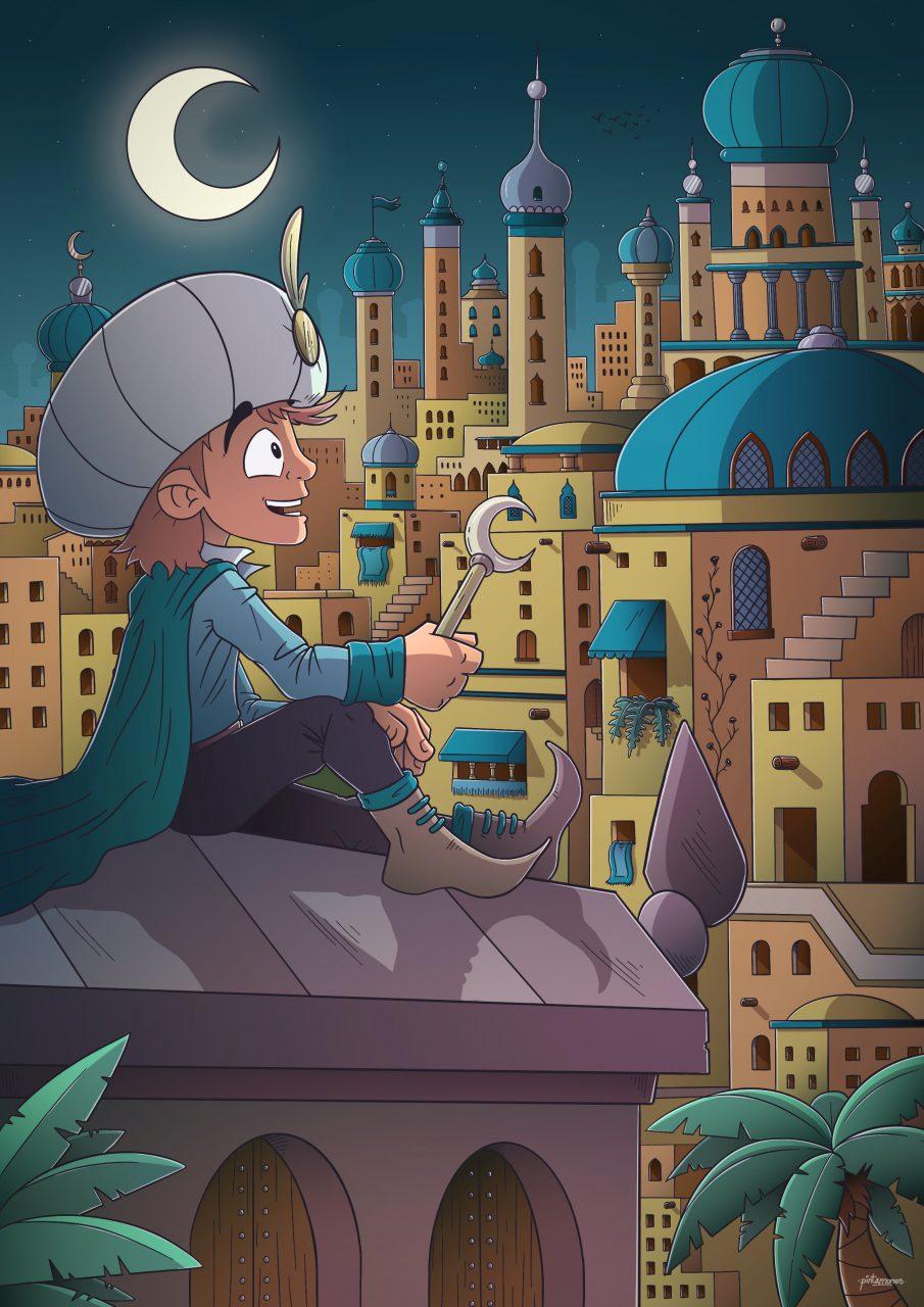 Illustració Aladdin